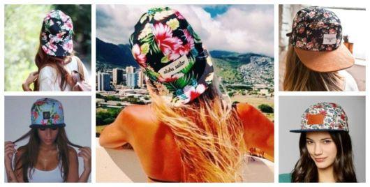 Boné Florido – 32 Modelos Femininos Apaixonantes & Dicas de Lojas!