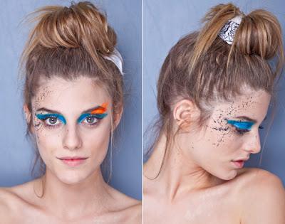 Penteados para carnaval: coque despojado