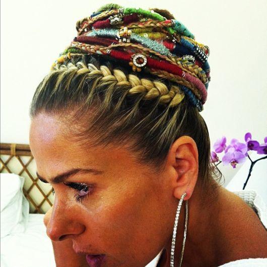 Penteados para carnaval: coque