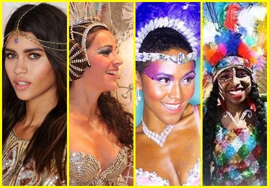 Penteados para carnaval: modelos para se inspirar