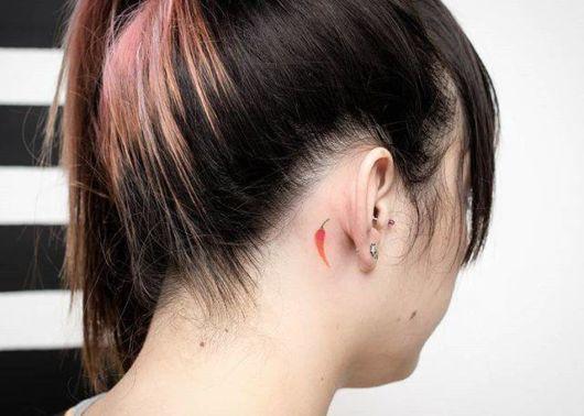 tatuagem delicada feminina