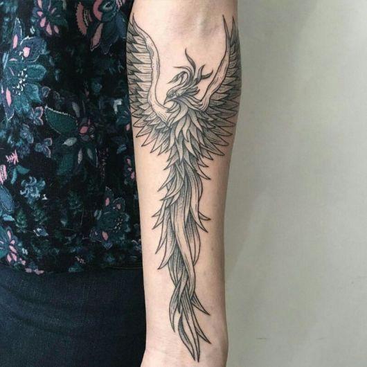 Uma tattoo convencional e que sempre agrada diversos usuários