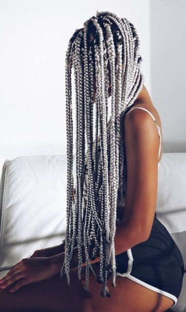 Tipos de trança: trança afro