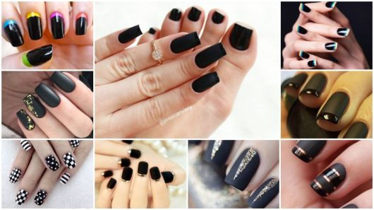 ideias de nail art