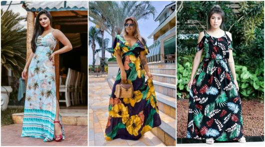 modelos de vestido longo