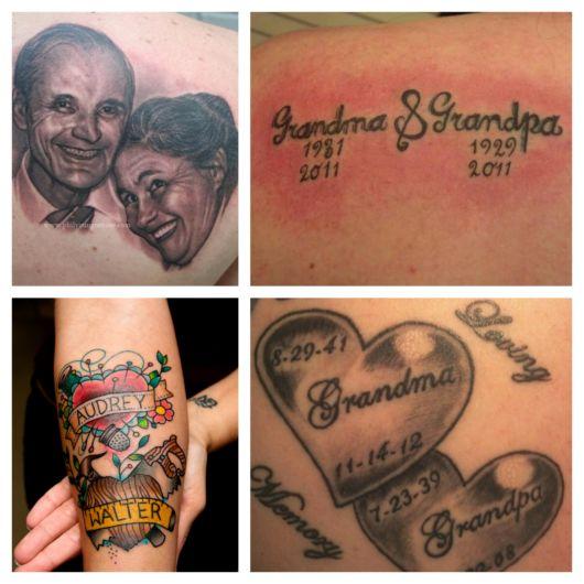 Os mais lindos e encantadores modelos de tatuagem para avós para impressionar você