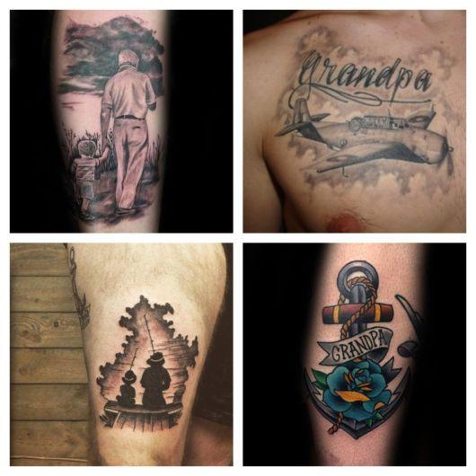 Tatuagem para Avós – 50 Ideias p/ Fazer Uma Homenagem Linda!
