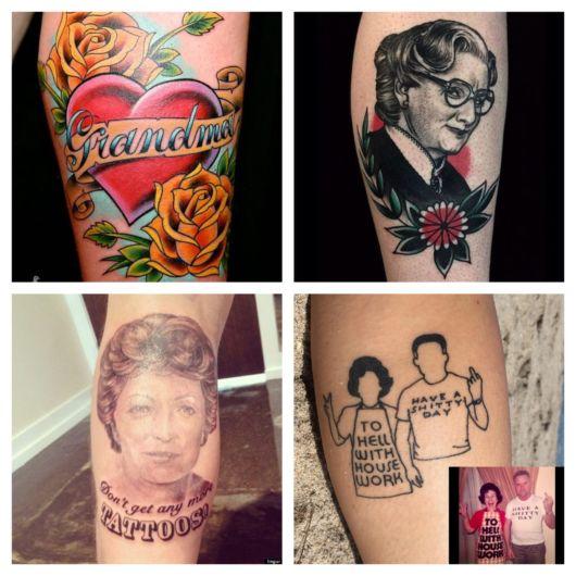 Lindas e criativas tatuagens para mostrar todo o seu amor por esses entes queridos