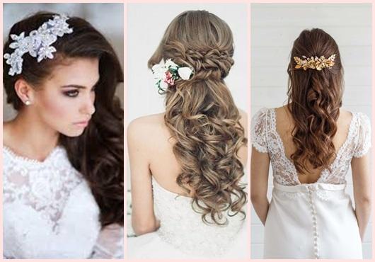 Arranjo de cabelo para noiva: inspirações
