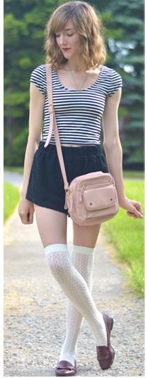meia branca com sapatilha