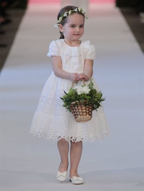 vestido para florista