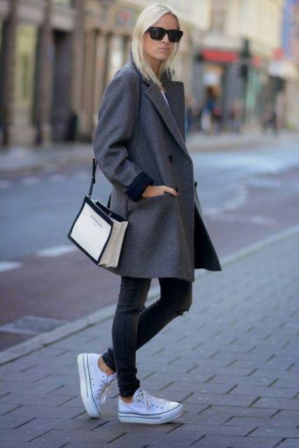 look com casaco de inverno
