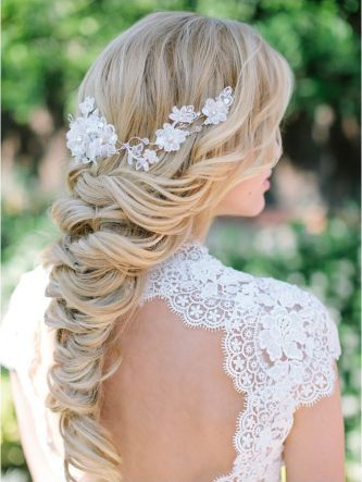 penteado preso noiva