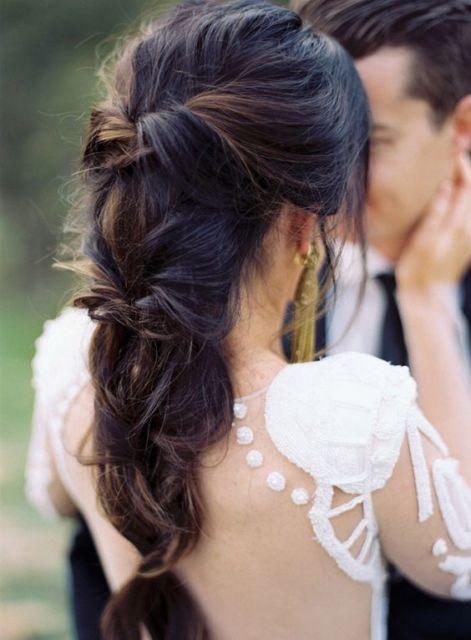 penteado moderno noiva