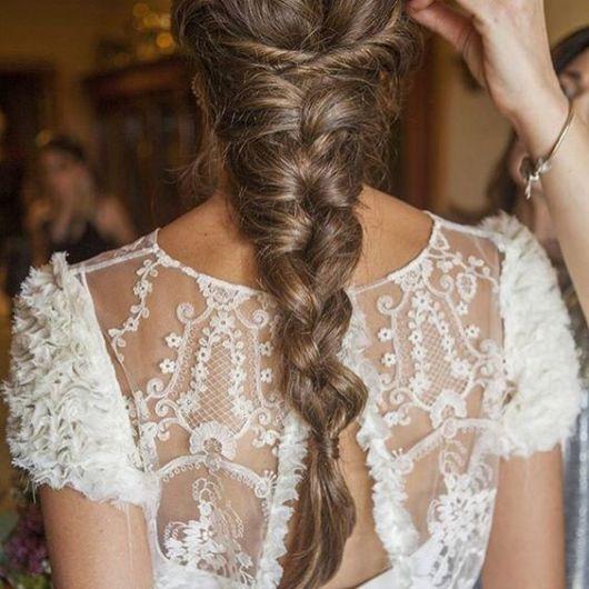 penteado delicado noiva