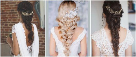 ideias de penteados para noivas