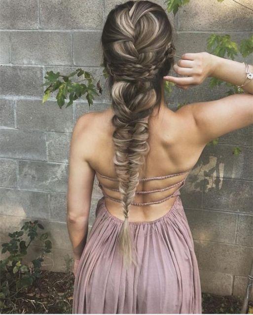 penteado para festas