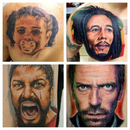 Tatuagem Realista – 90 Ideias de tattoos e trabalhos impressionantes!