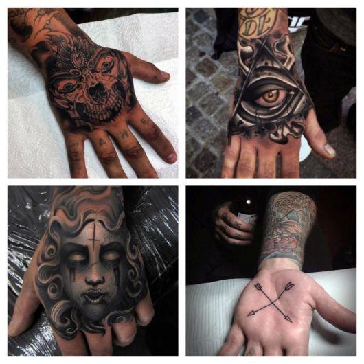 Tatuagem na mão masculina – 80 Ideias iradas e dicas para tatuar!