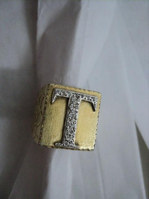 anel masculino de ouro