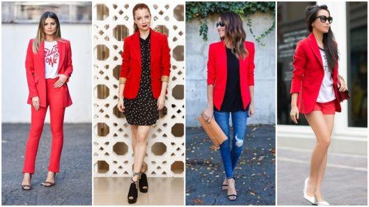 Blazer Vermelho – Saiba Como Compor 47 Looks Encantadores!