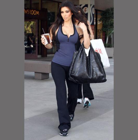 look academia kim kardashian
