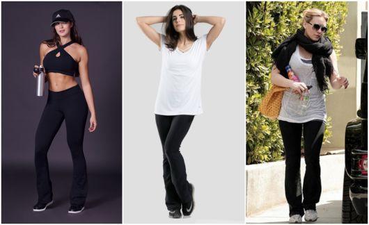 modelos de calça preta
