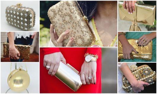 Clutch Dourada – 46 Bolsas Chiquérrimas & Dicas de Como Usar!