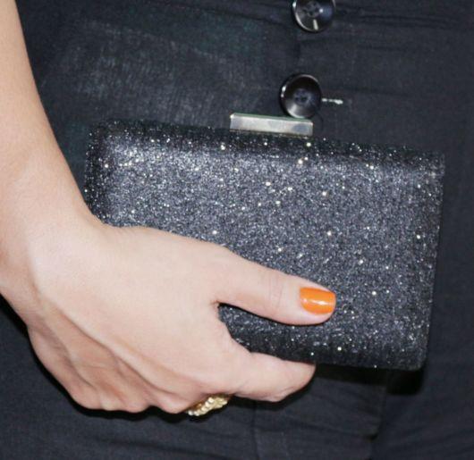 clutch com glitter