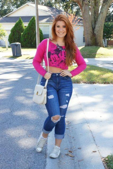 look com moletom pink