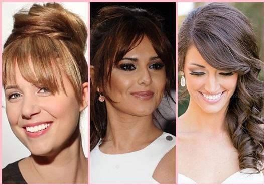 Penteados com franja: Modelos para se inspirar