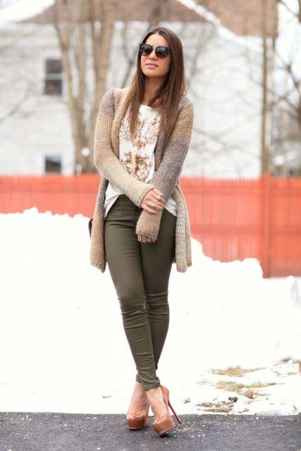 scarpin de bico redondo