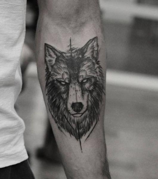 tatuagem no antebraço