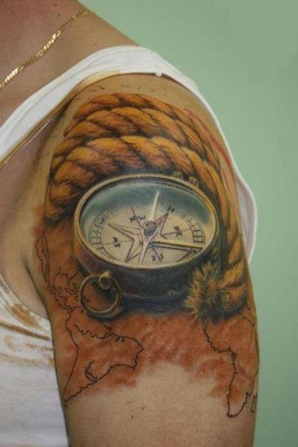 Tatuagem realista 3D