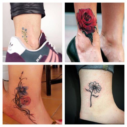 Tatuagem de flor: uma boa ideia para riscar nessa área