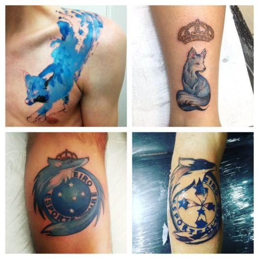 tatuagem do Cruzeiro
