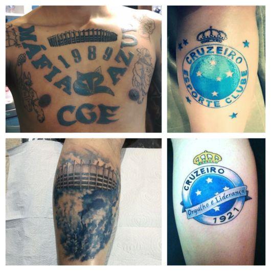 Tatuagem do Cruzeiro – 60 tattoos lindas em homenagem ao time!