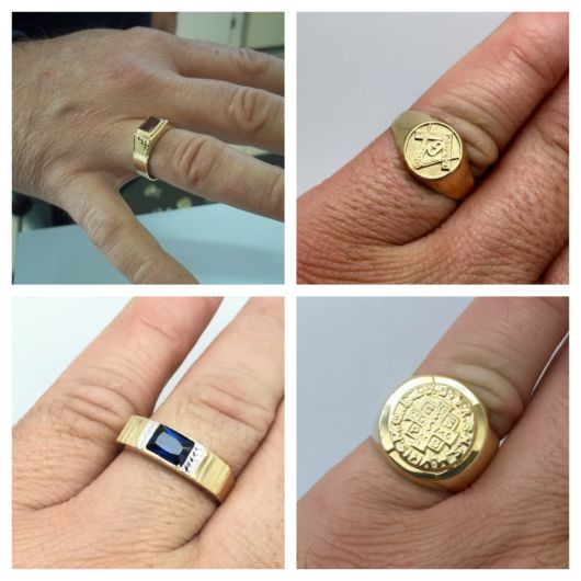 Anel de ouro masculino – Onde comprar? + 50 Tipos e dicas incríveis!