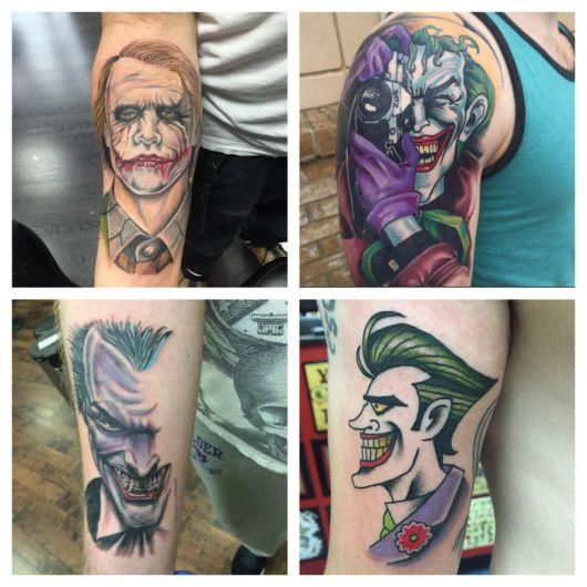 tatuagem Joker