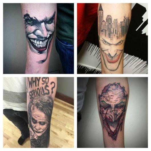70 ideias de tatuagem do Coringa + dicas impecáveis