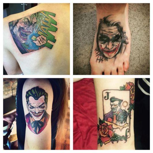 Tatuagem do Coringa – 70 ideias incríveis inspiradas no personagem!