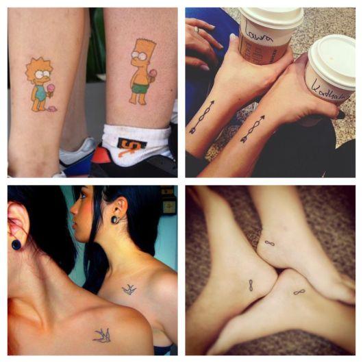Tatuagem de irmãos