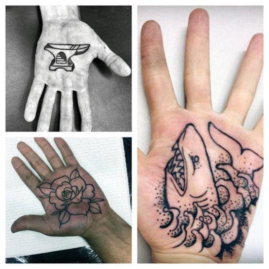 Tatuagem na palma da mão – Dói? + 50 ideias, fotos e dicas incríveis!