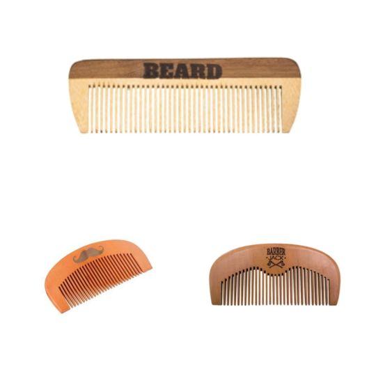 Modelos de mini pentes para barba