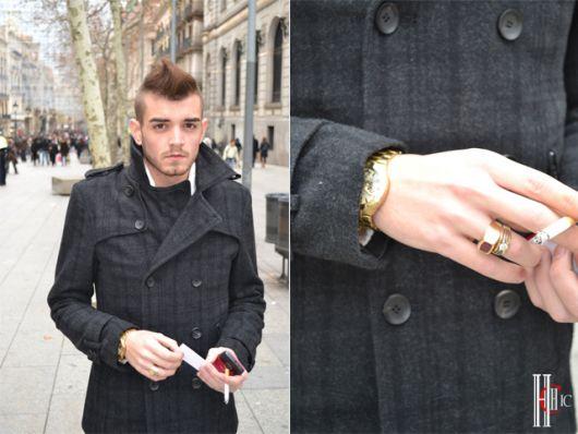 anel de ouro masculino