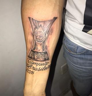 tatuagem do Palmeiras