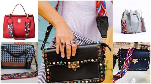 Bolsa com Alça Colorida – 52 Modelos Maravilhosos com Alça Étnica!