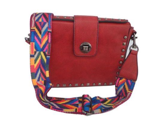 bolsa vermelha simples