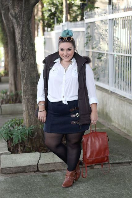 look inverno plus size
