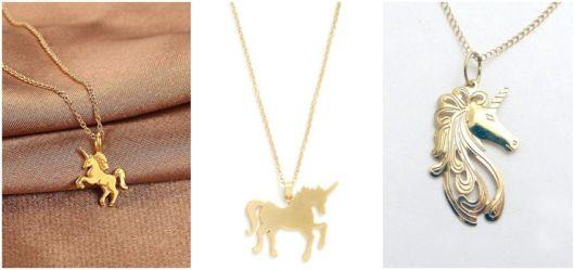 modelos de colares dourados